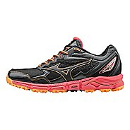 Womens Mizuno Wave Daichi 2 Trail Running Shoe - Black/Diva Pink 10