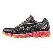 Womens Mizuno Wave Daichi 2 Trail Running Shoe - Black/Diva Pink 7.5
