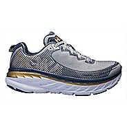 Mens Hoka One One Bondi 5 Running Shoe - Grey/Navy 9.5