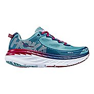 Womens Hoka One One Bondi 5 Running Shoe - Aqua/Indigo 5
