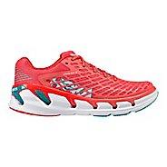 Womens Hoka One One Vanquish 3 Running Shoe - Coral/Teal 5.5