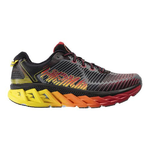 Mens Hoka One One Arahi Running Shoe | Black Hoka One One Running Shoes From Road Runner Sports