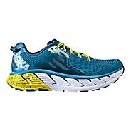 Mens Hoka One One Gaviota Running Shoe - Niagara/Midnight 8.5