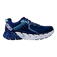 Womens Hoka One One Gaviota Running Shoe - Blue/White 10.5
