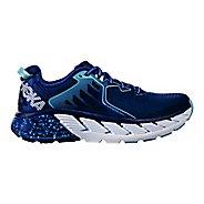Womens Hoka One One Gaviota Running Shoe - Blue/White 5