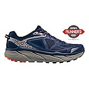 Mens Hoke One One Challenger ATR 3 Trail Running Shoe - Medieval Blue/Orange 9
