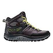 Mens Hoka One One Tor Tech Mid WP Hiking Shoe - Grey/Acid 8