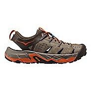 Mens Hoka One One Tor Trafa Hiking Shoe - Brindle/Orange 11.5