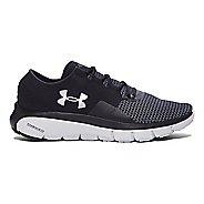 Mens Under Armour Speedform Fortis 2 Running Shoe - Black/Glacier Grey 10.5