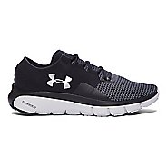 Mens Under Armour Speedform Fortis 2 Running Shoe - Black/Glacier Grey 11