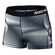 "Womens Nike Pro Cool 3"" Pyramid Compression & Fitted Shorts"