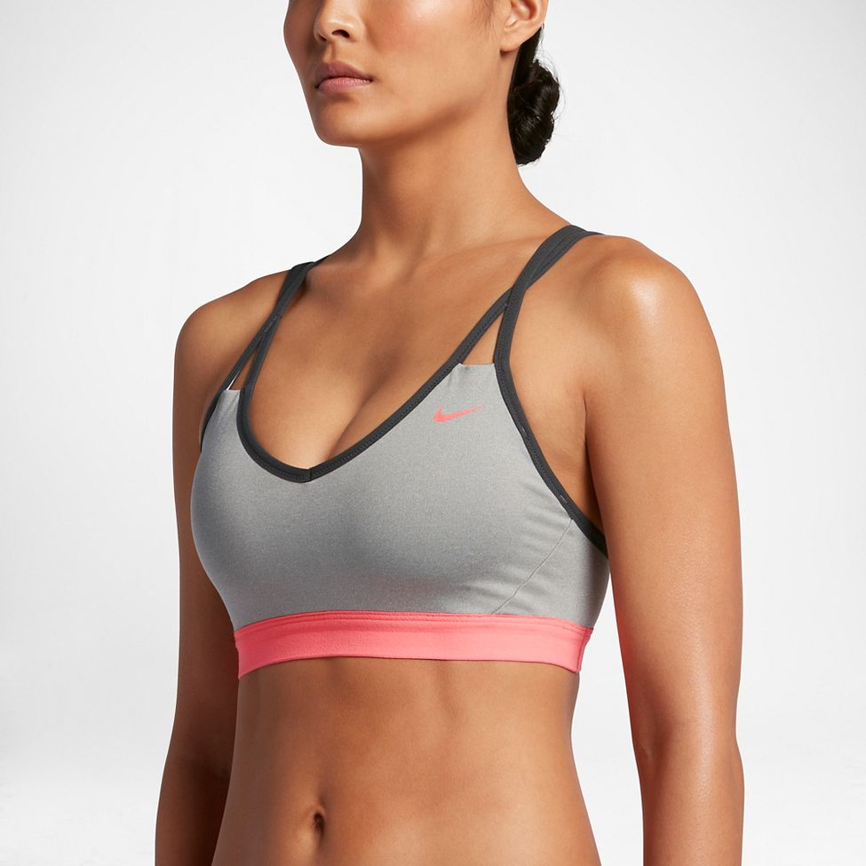22d7e64a9602d Womens Nike Pro Indy Strappy Sports Bra at Road Runner Sports