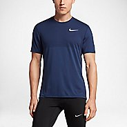 Mens Nike Zonal Cooling Relay Short Sleeve Technical Tops - Paramount Blue S