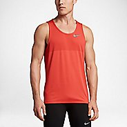 Mens Nike Zonal Cooling Relay Sleeveless & Tank Technical Tops - Max Orange XL