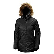 Womens Helly Hansen Hilton 2 Parka Cold Weather Jackets - Black S