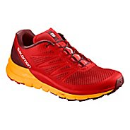 Mens Salomon Sense Pro Max Trail Running Shoe - Fiery Red 13