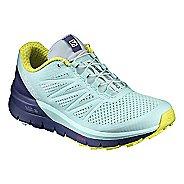 Womens Salomon Sense Pro Max Trail Running Shoe - Aqua 10.5