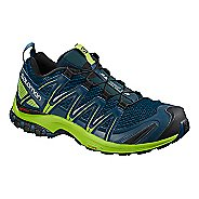 Mens Salomon XA Pro 3D Trail Running Shoe - Poseidon 10.5
