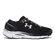 Mens Under Armour Speedform Gemini 2.1 Running Shoe - Black/White 11