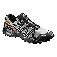 Salomon Mens Speedcross 4 CS Trail Running Shoe - Grey/Black 10.5