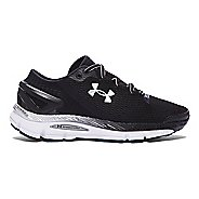 Womens Under Armour Speedform Gemini 2.1 Running Shoe - Black/White 5