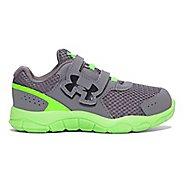 Kids Under Armour Engage BL 3 AC Running Shoe - Graphite 8C