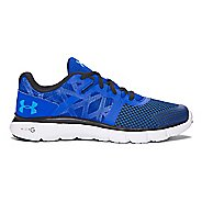Under Armour Micro G Shift RN  Running Shoe - Black/White 4.5Y