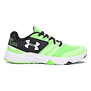 Under Armour Primed  Running Shoe - Lime/Black 5Y