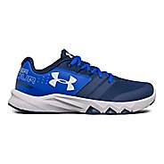 Under Armour Primed  Running Shoe - Blackout Navy/Blue 6.5Y
