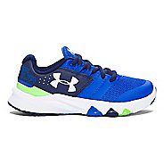 Under Armour Primed  Running Shoe - Lime/Black 3Y
