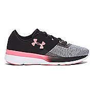 Kids Under Armour Tempo TCK Running Shoe - Black/Brilliance 3.5Y
