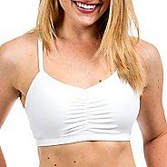 Womens Handful Adjustable Sports Bra - White XS