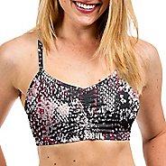 Womens Handful Adjustable Printed Sports Bra - Lizard XS