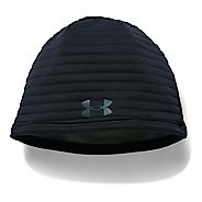 Mens Under Armour No Breaks Gore WS Beanie Headwear - Black