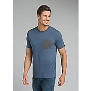 Mens Prana Pocket Short Sleeve Non-Technical Tops