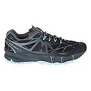 Womens Merrell Agility Peak Flex Trail Running Shoe - Black 6
