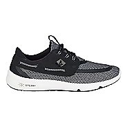 Mens Sperry 7 SEAS 3-Eye Casual Shoe - Black/White 8