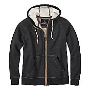 Lifestyle Full Zip Sherpa Hood Half-Zips & Hoodies Non-Technical Tops - Black XXL