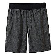 Mens Prana Vaha Lined Shorts - Black/Black L