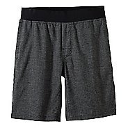 Mens Prana Vaha Lined Shorts - Black/Black XXL
