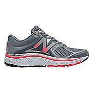 Womens New Balance 940v3 Running Shoe - Grey/Pink 6.5