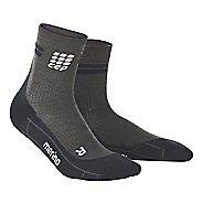 Mens CEP Dynamic+ Run Merino Short Sock Injury Recovery - Anthracite/Black M
