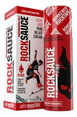ROCKTAPE RockSauce Fire 3 ounce Roll-on Injury Recovery