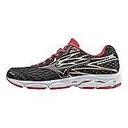 Mens Mizuno Wave Catalyst 2 Running Shoe - Black/Chinese Red 10