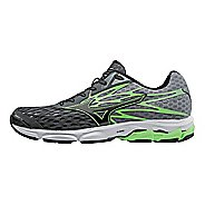Mens Mizuno Wave Catalyst 2 Running Shoe - Dark Shadow/Green 7.5