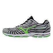 Mens Mizuno Wave Hitogami 4 Running Shoe - Grey/Green 7