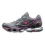 Womens Mizuno Wave Prophecy 6 Running Shoe - Grey/Purple 7