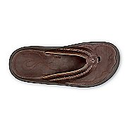 Mens Olukai Hokua Leather Sandals Shoe