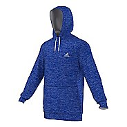 Mens Adidas Team Issue Fleece Pullover Half-Zips & Hoodies Technical Tops