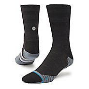 Mens Stance Run Uncommon Solids Crew Socks